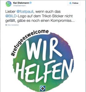 Post von Kai Diekmann auf Twitter am 17.09.2015