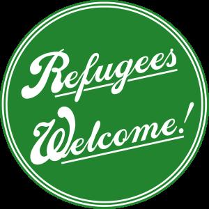 Refugees welcome! mit Dank an vert-et-blanc